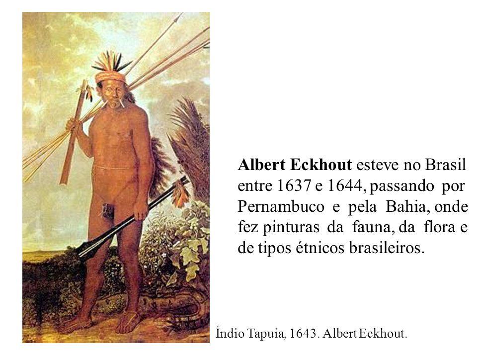 Índio Tapuia, 1643.Albert Eckhout.