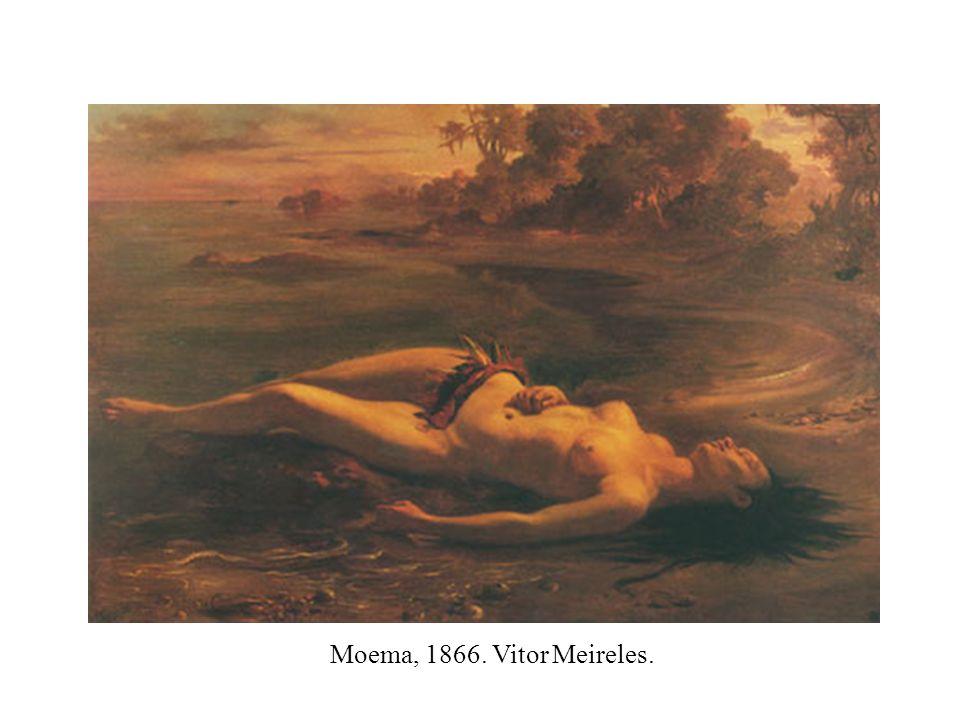 Moema, 1866. Vitor Meireles.