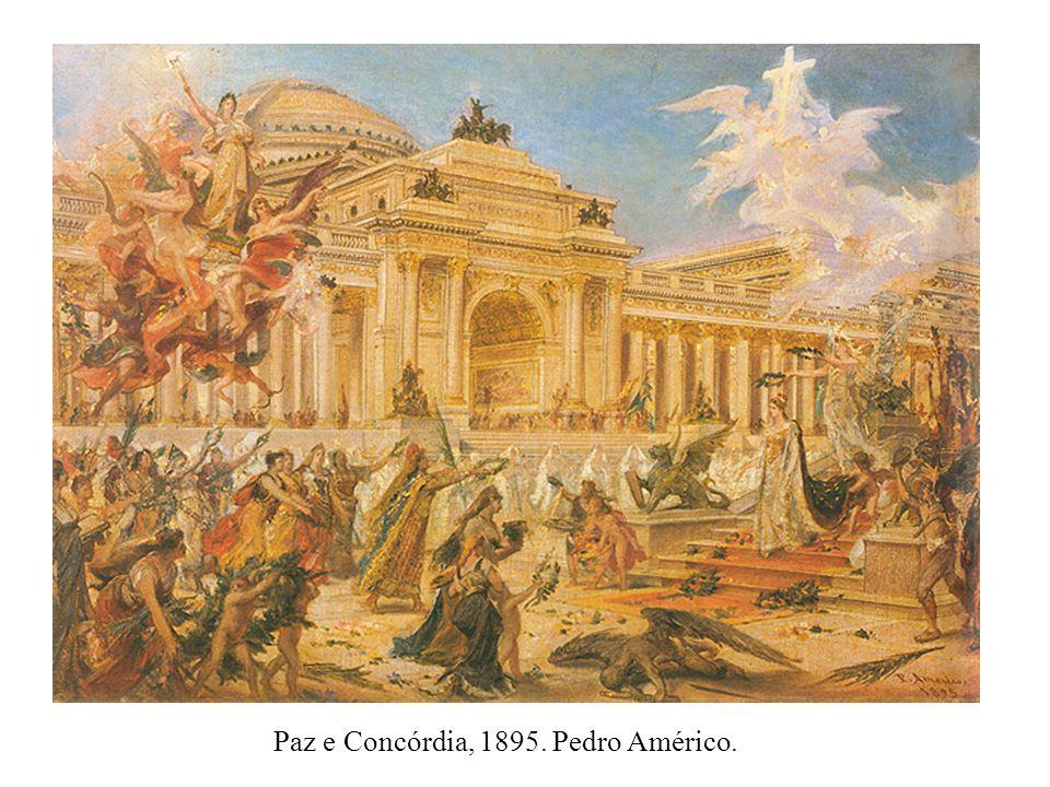 Paz e Concórdia, 1895. Pedro Américo.