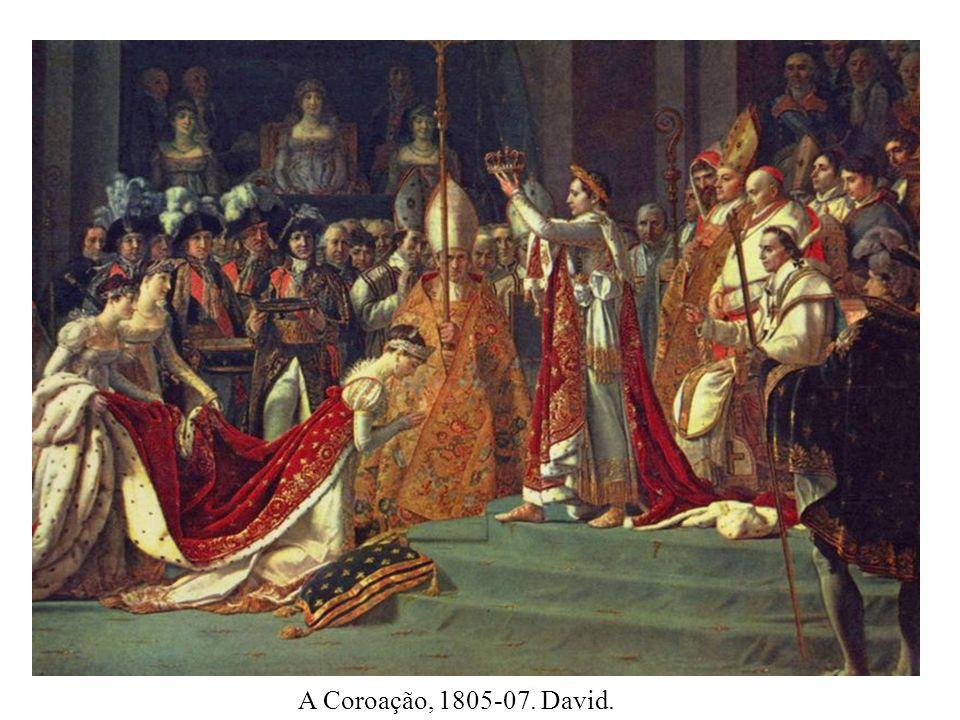 A Coroação, 1805-07. David.