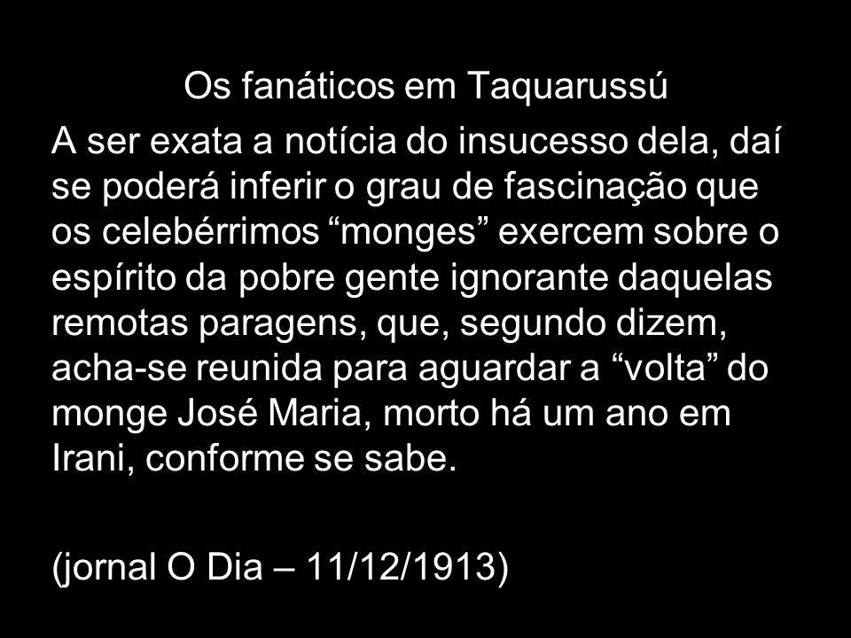 A questão de terras e os meios de comunicação – início da república Realizou-se no dia 12 em Curitibanos uma grande manifestação de apreço e solidarie