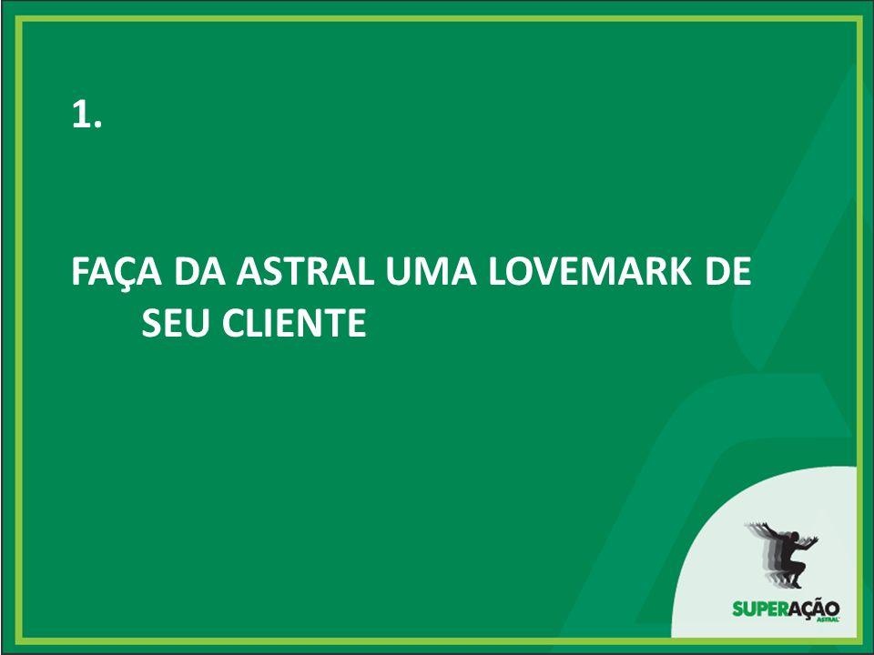 1. FAÇA DA ASTRAL UMA LOVEMARK DE SEU CLIENTE