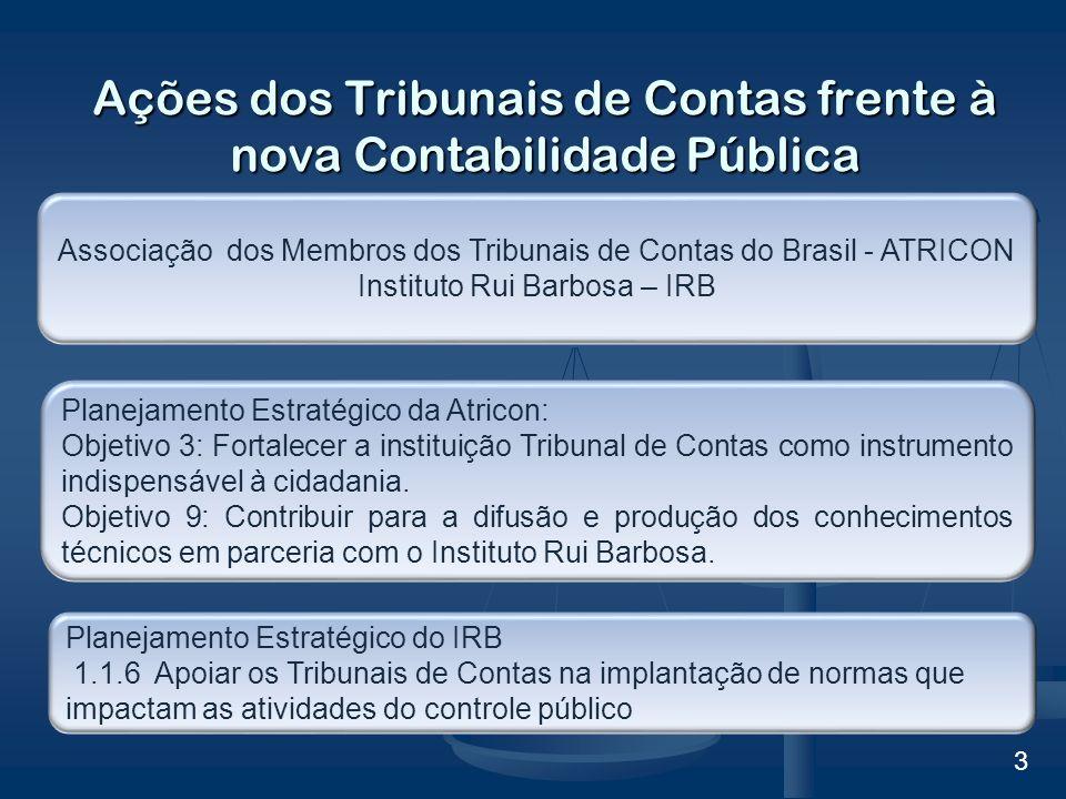 Desafio dos Tribunais de Contas em face da nova Contabilidade Pública.