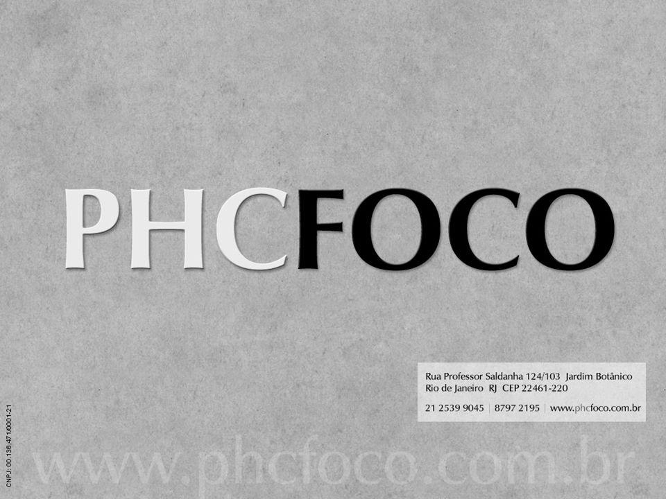 PHC FOCO Uso restrito PHC FOCO. Cópia não autorizada.