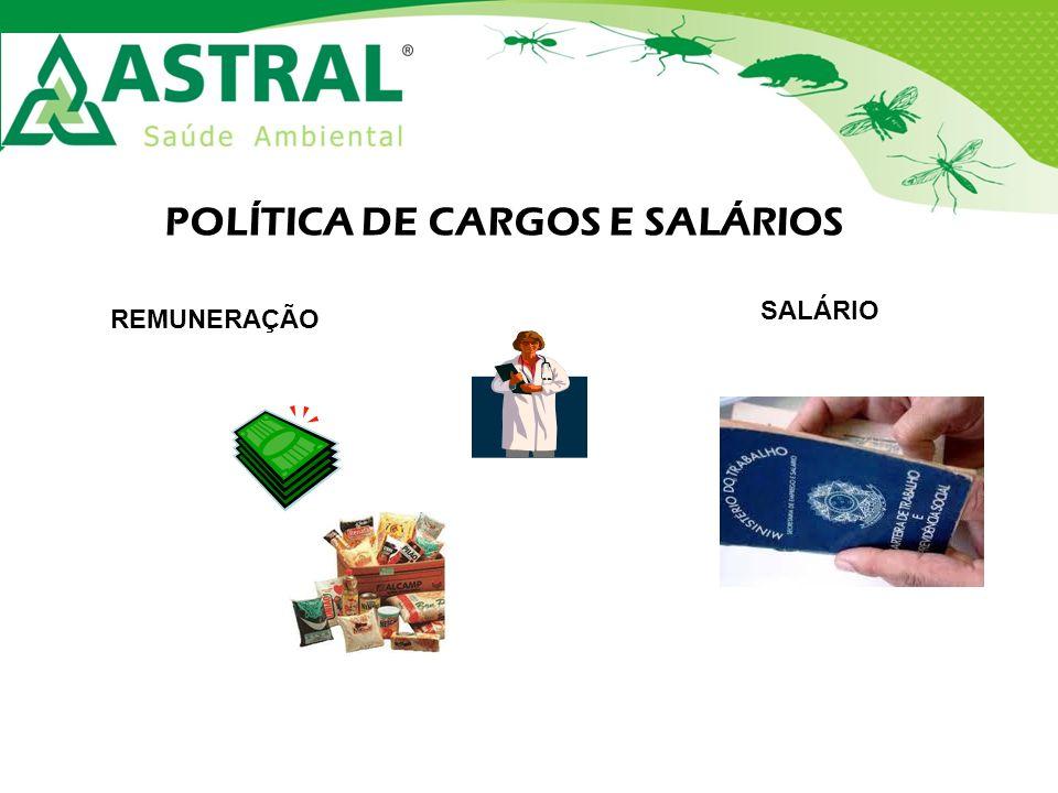 POLÍTICA DE CARGOS E SALÁRIOS REMUNERAÇÃO SALÁRIO