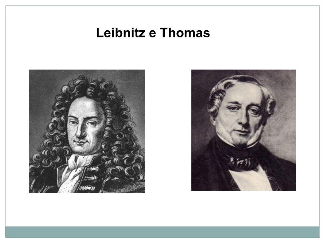 Leibnitz e Thomas