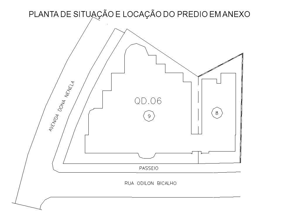 PLANTA DO PRIMEIRO PAVIMENTO