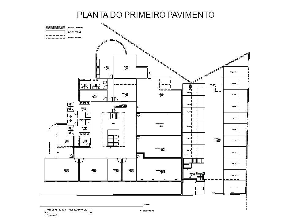 PLANTA DO SEGUNDO PAVIMENTO