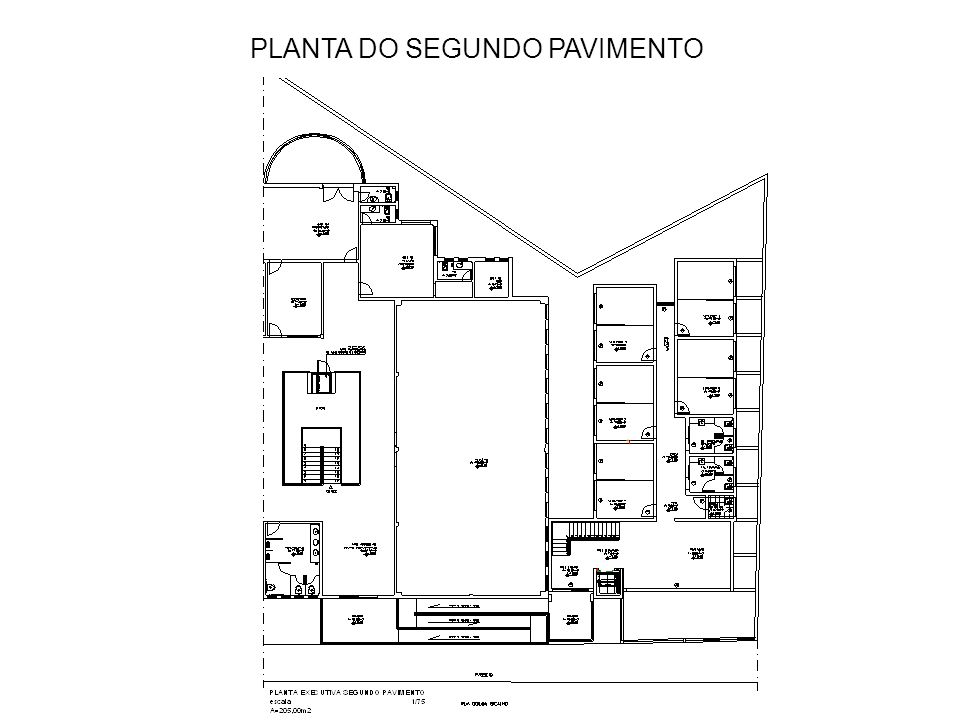 PLANTA DO TERCEIRO PAVIMENTO