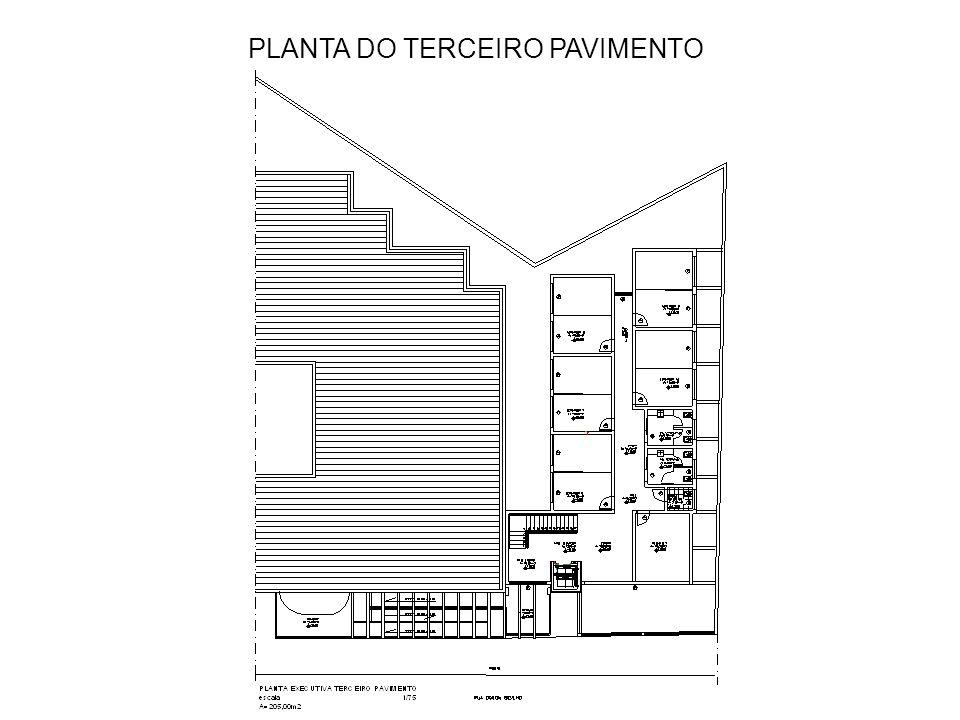 PLANTA DO QUARTO PAVIMENTO