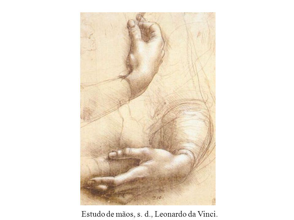 Homem velho, s. d., Leonardo da Vinci.