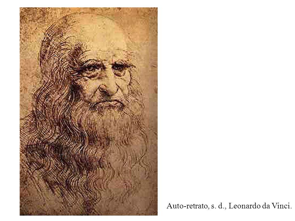 Leonardo da Vinci (1452-1519) foi um grande artista.