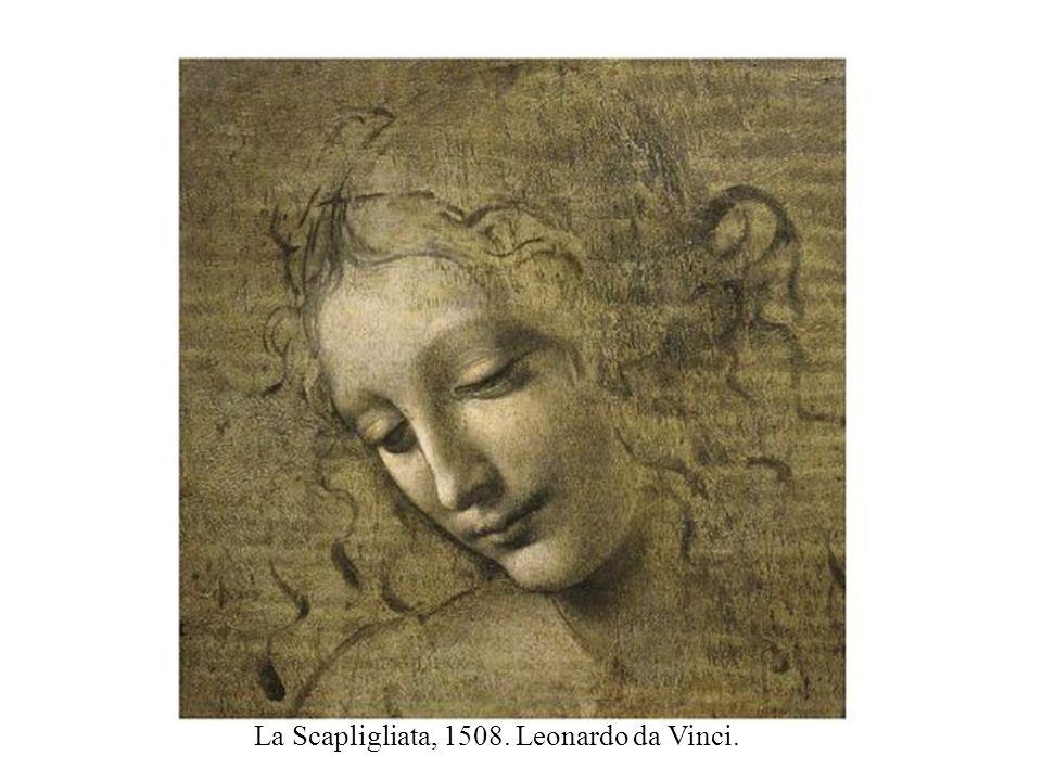 A Virgem, o Menino Jesus e SantAna, 1510. Leonardo da Vinci.