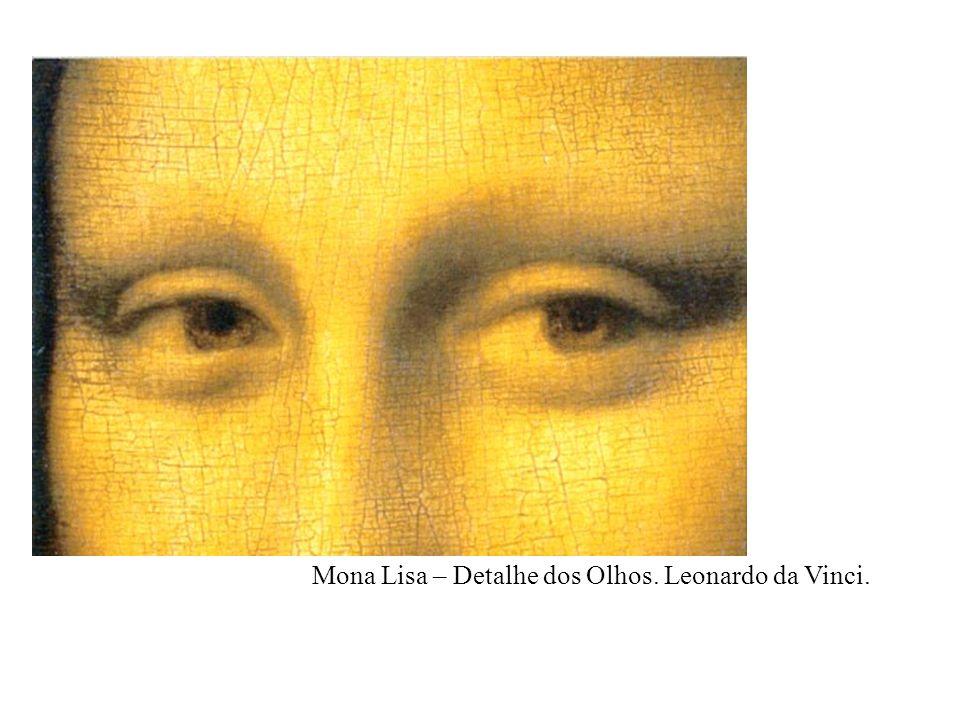 Mona Lisa – Detalhe da Boca. Leonardo da Vinci.