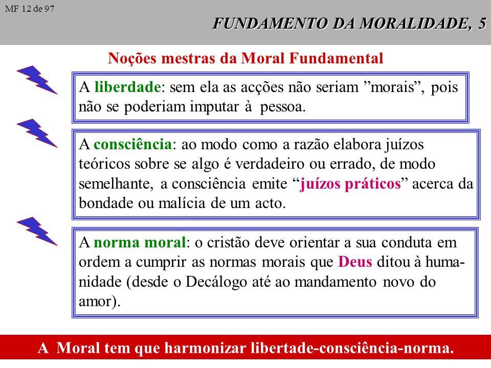 FUNDAMENTO DA MORALIDADE, 4 Outras características da antropologia cristã: a Unidade da pessoa: o homem é pessoa na unidade de corpo e espírito. A sua