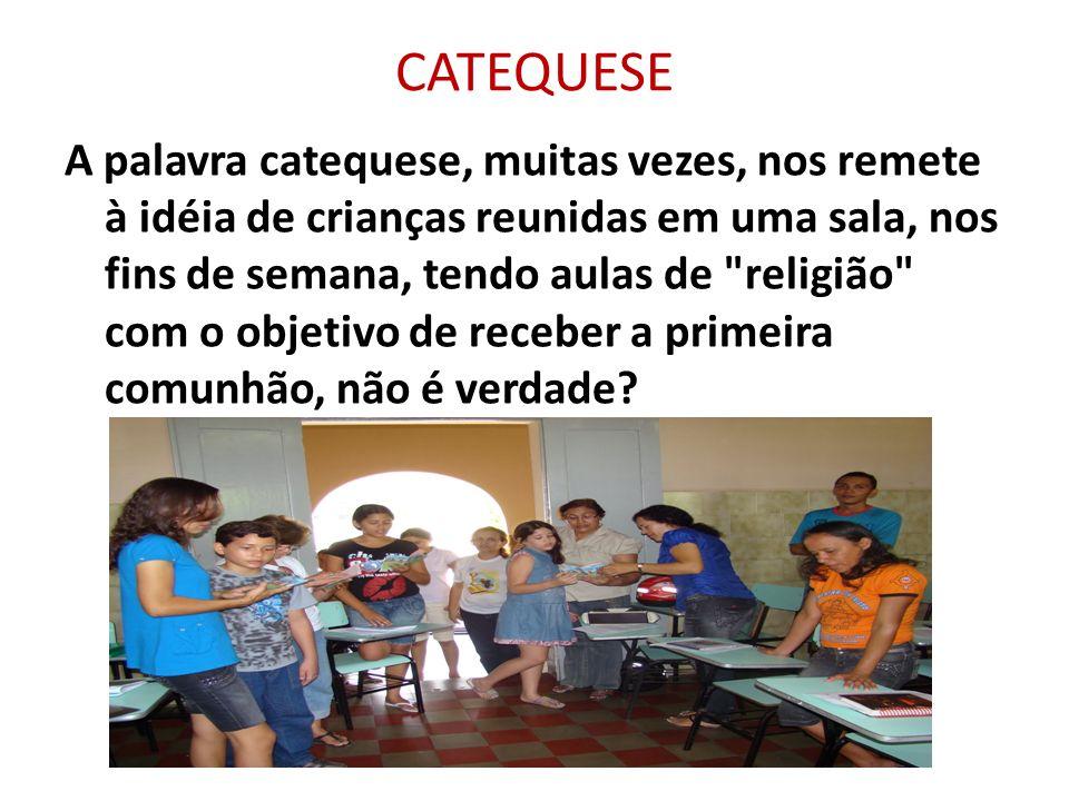 ORAÇÃO DO CATEQUISTA: Senhor, tu me chamaste a ser catequista na tua Igreja nesse imenso Brasil, na tua comunidade que também é minha.