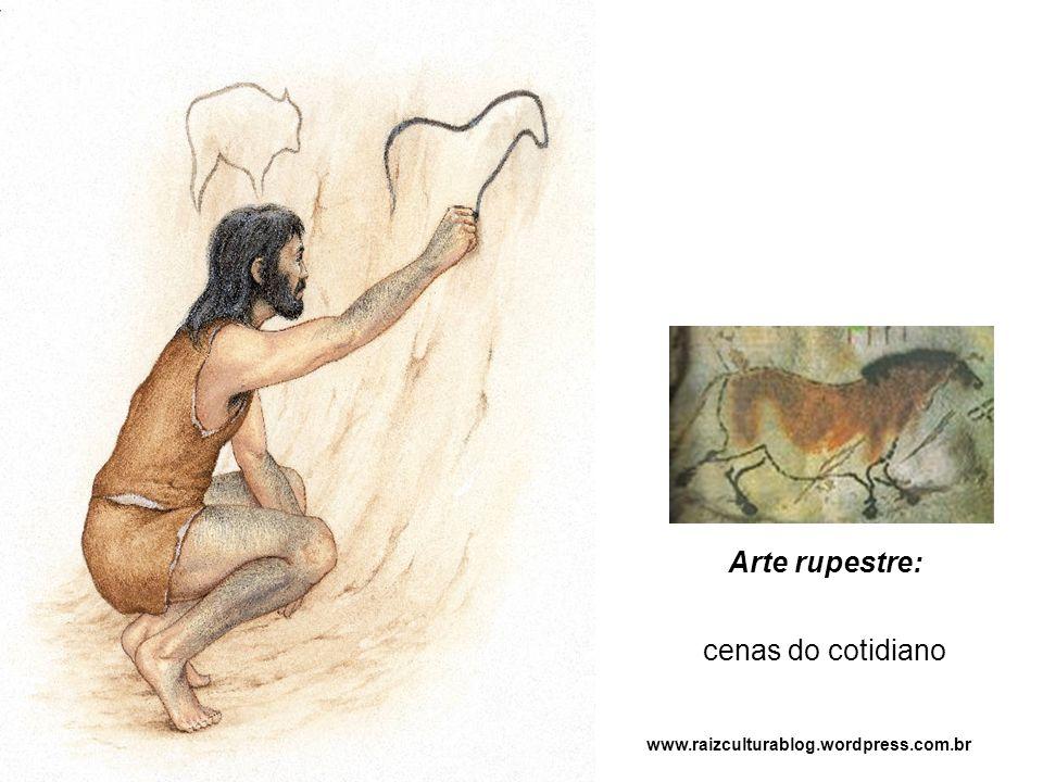Arte rupestre: cenas do cotidiano www.raizculturablog.wordpress.com.br