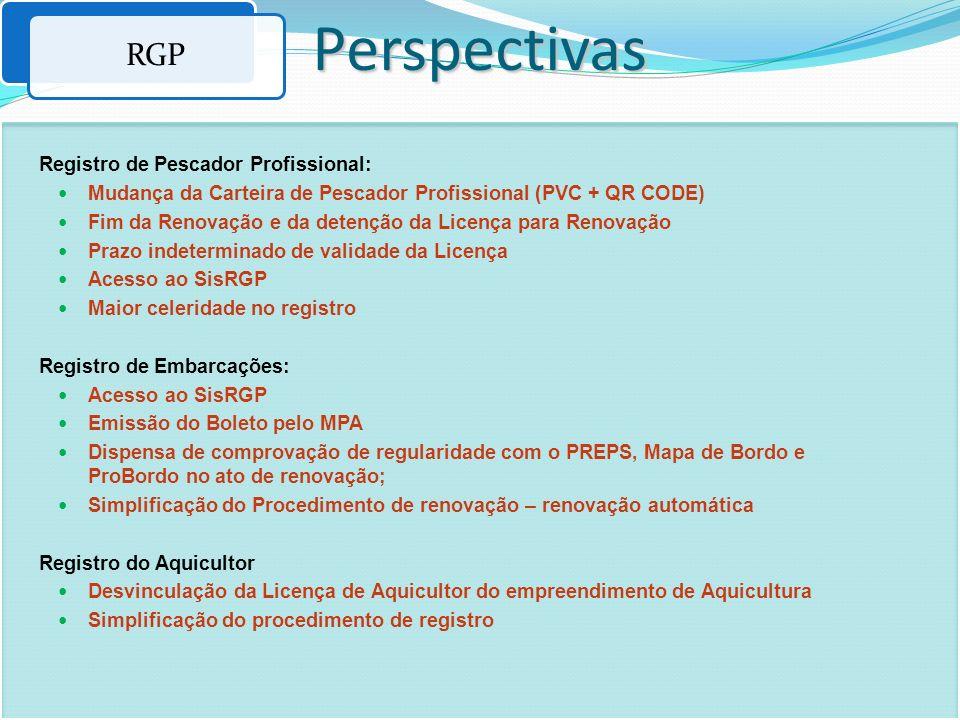 Registro de Pescador Profissional: Mudança da Carteira de Pescador Profissional (PVC + QR CODE) Fim da Renovação e da detenção da Licença para Renovaç