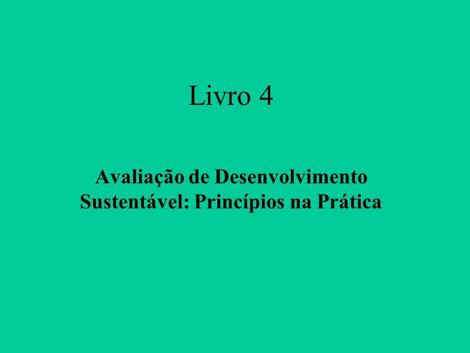 Livro 4 Avaliação de Desenvolvimento Sustentável: Princípios na Prática