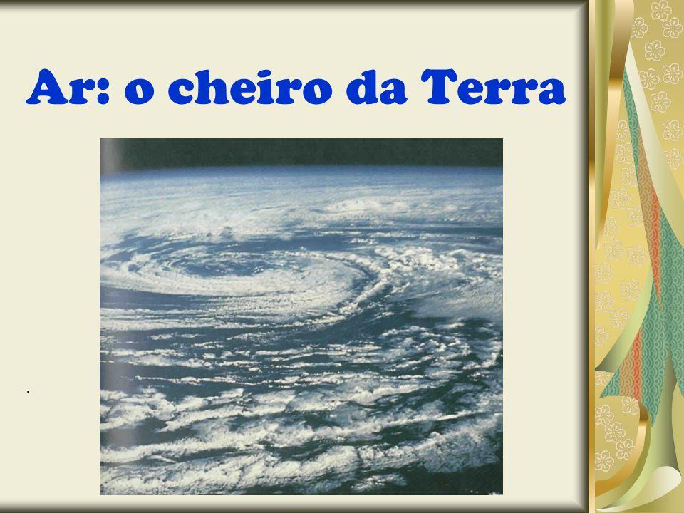 Capítulo IV – o cheiro da Terra Nosso planeta está envolto por uma grande camada de ar.