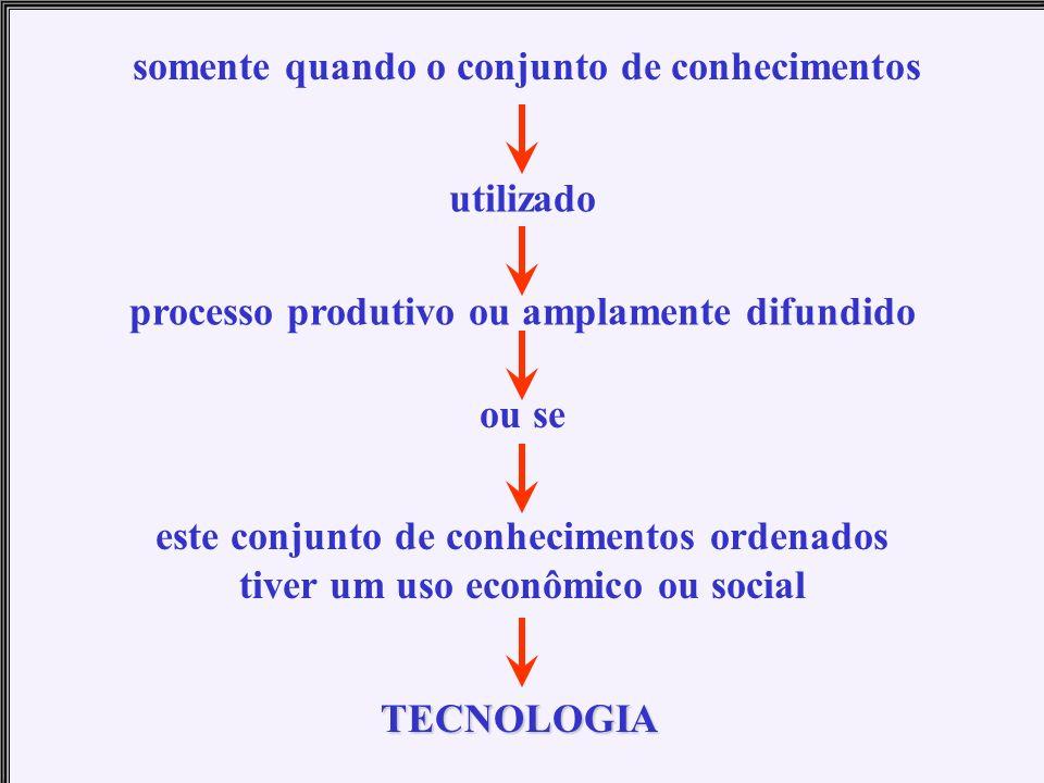 para SCHWARTZMAN (1981, p. 64), até o século XIX as atividades científicas, em geral, pouco contribuíram em termos de utilidade prática; no entanto, a