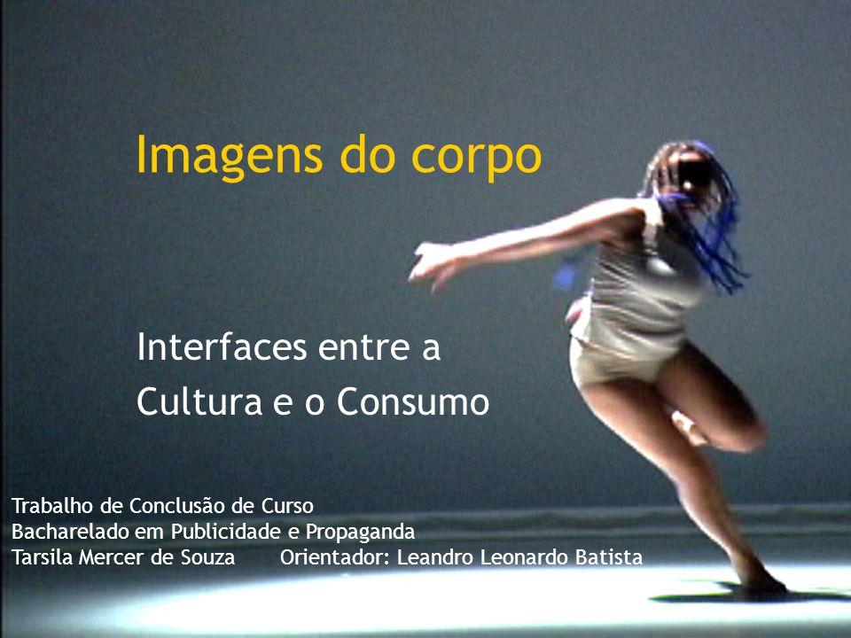 Imagens do corpo Interfaces entre a Cultura e o Consumo Trabalho de Conclusão de Curso Bacharelado em Publicidade e Propaganda Tarsila Mercer de Souza