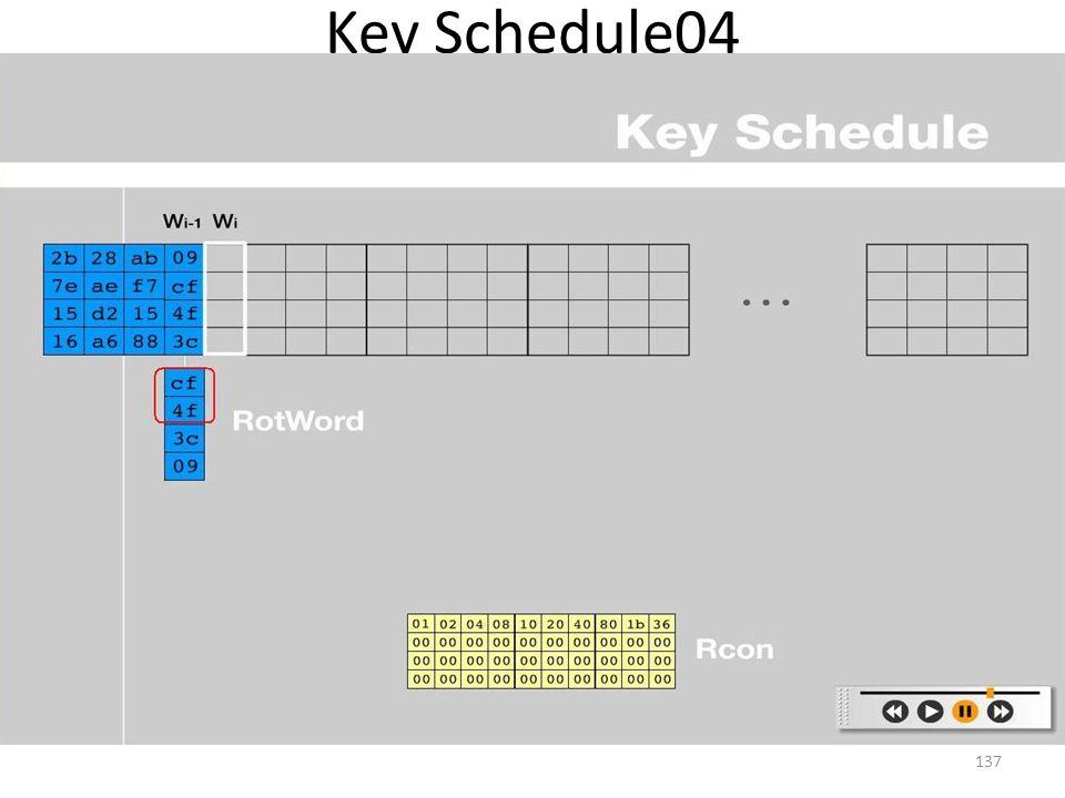 Key Schedule04 137
