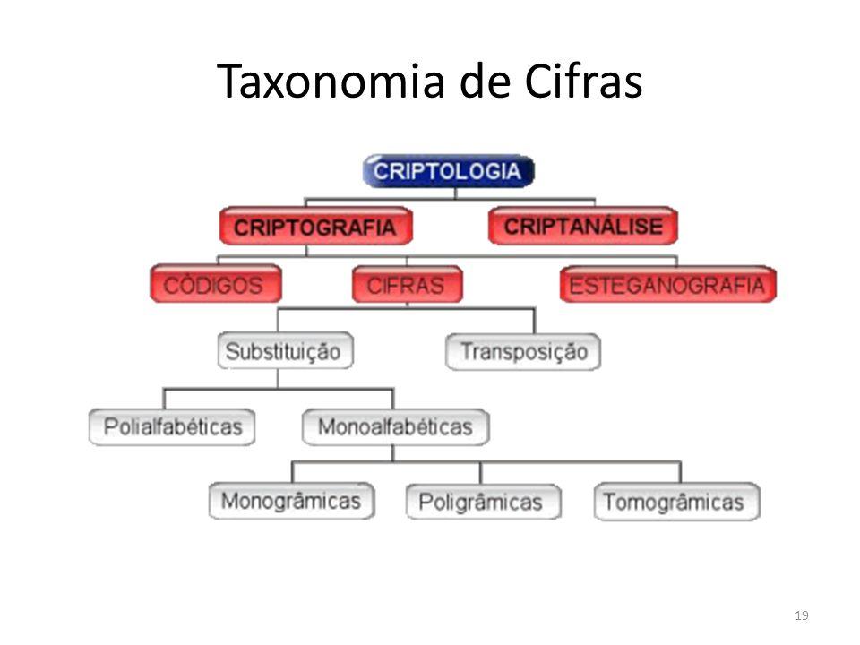 19 Taxonomia de Cifras