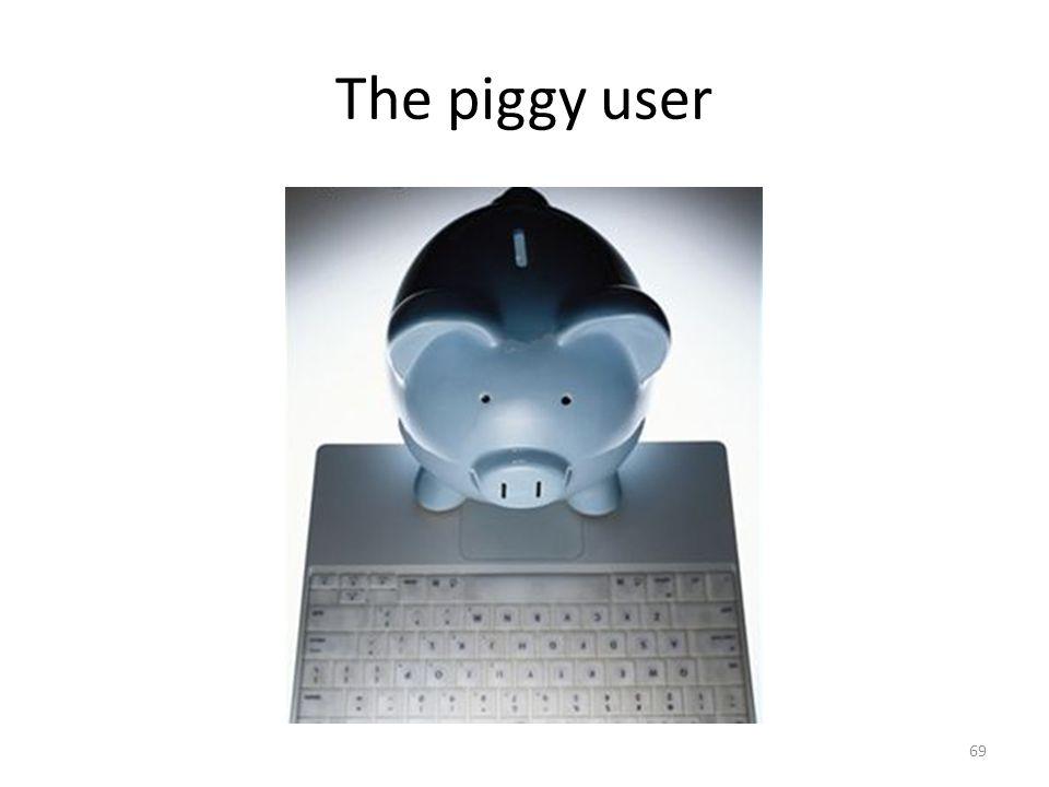 The piggy user 69