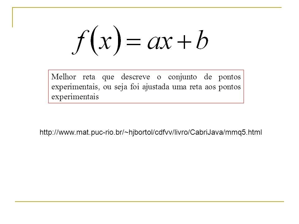 Como minimizar? Chi^2 é uma função!!! Como achar o mínimo de uma função? x F(x)