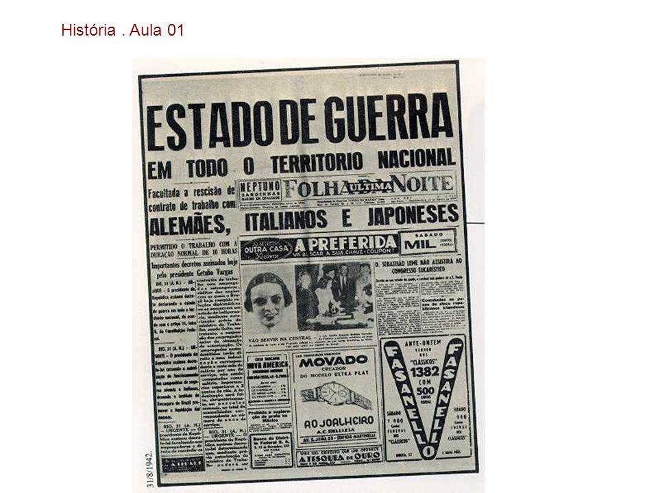 História. Aula 01 Uma leitura da Era Vargas através das imagens