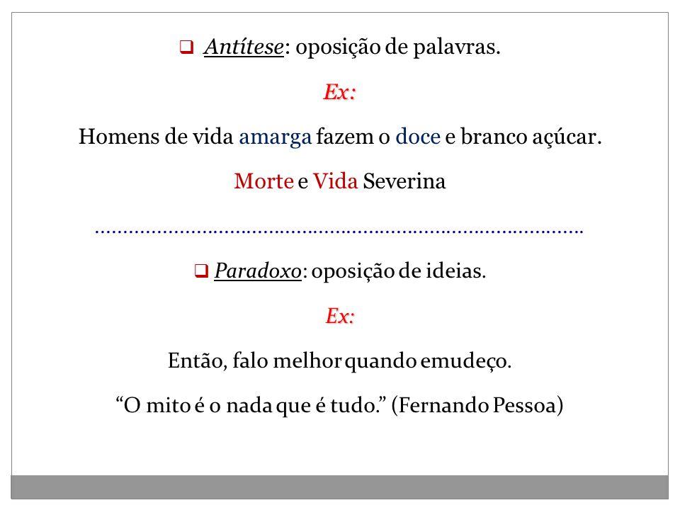 Aliteração Aliteração: repetição de sons consonantais.Ex: Boi bem bravo, bate baixo, bota baba, boi berrando...