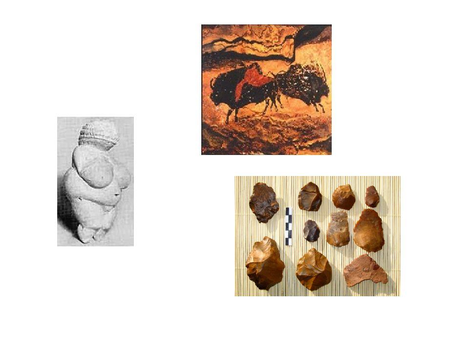 Era neolítica (~10.000 a.c – 3.000 a.c.) Mitos de criaçãoTrocas rituaisCampos permanentes Surgimento das diferenças sociais Ornamentos de ouro e cobre nativos Arado simbolismoCozimento no forno e fermentação Armazenamento de alimento Fazedores de chuva e reis do milho CerâmicaCarpintaria rudimentar Desenho geométricoRituais de fertilidade Cabanas de junco e argila, casas de madeira Moinhos de mãoAnimais domésticos para alimento, lã TecelagemCultura de revezamento com enxada Calendário para uso agrícola vilasfiaçãoInstrumentos de pedra polida: machados, arados Agricultura Conquistas intelectuais e culturais Organização socialEquipamentos e processos Instrumentos e materiais produção de alimentos e transporte