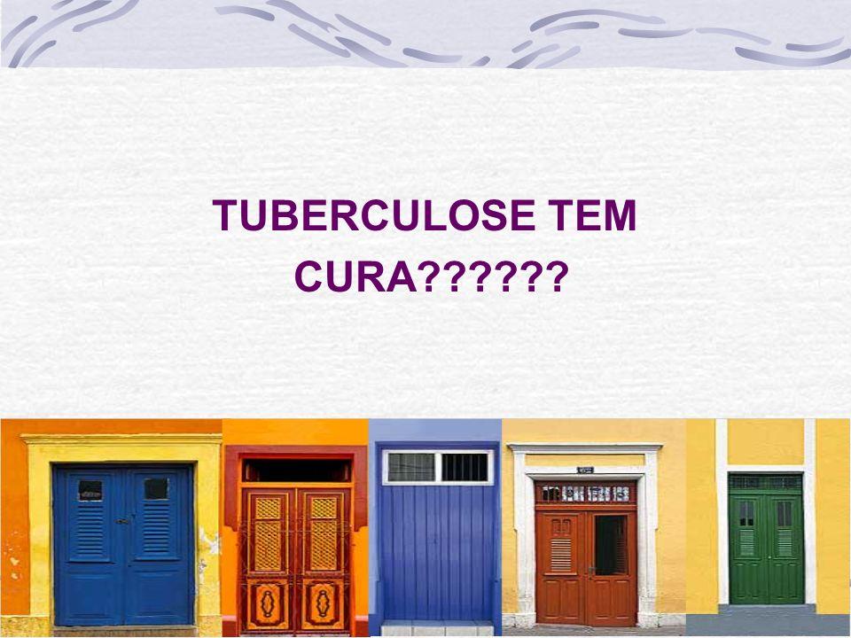 TUBERCULOSE TEM CURA??????