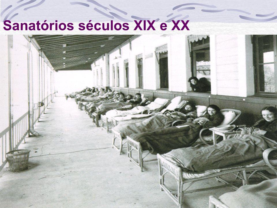 Sanatórios séculos XIX e XX