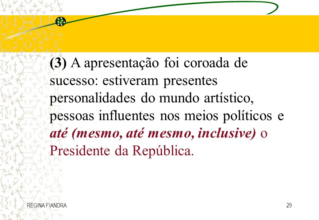REGINA FIANDRA29 (3) A apresentação foi coroada de sucesso: estiveram presentes personalidades do mundo artístico, pessoas influentes nos meios políti