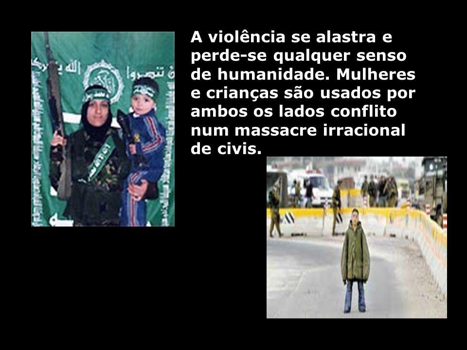 A violência se alastra e perde-se qualquer senso de humanidade. Mulheres e crianças são usados por ambos os lados conflito num massacre irracional de