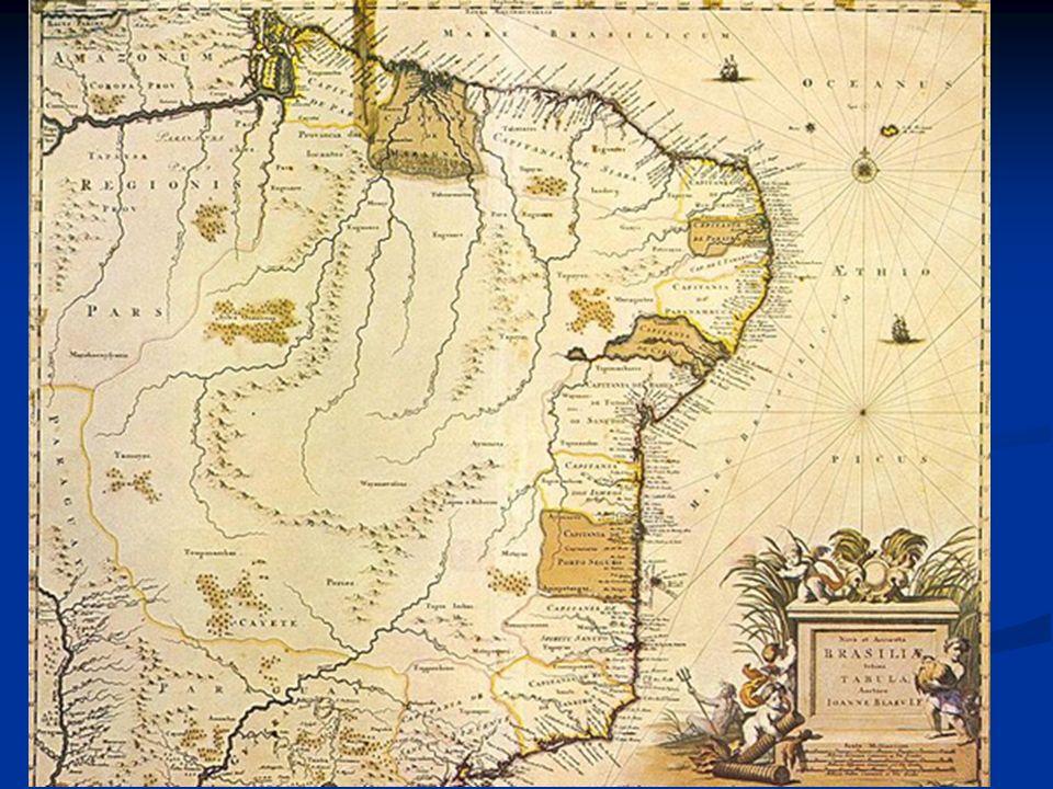 O Brasil do interior atuações militares; Drogas do sertão; Entradas; Padres jesuítas (missões jesuíticas); Bandeirantes (procurar ouro, destruir quilombos, escravizar ou caçar índios) Caminho do gado (para longe das plantações de cana)