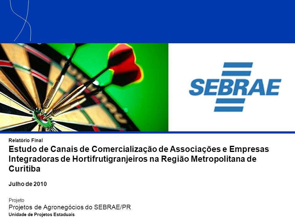 42 Principais Conclusões Capacitação das cooperativas e ampliação de seu papel dentro do segmento de hortifrutigranjeiros As cooperativas têm elevado potencial de agregação de empresas.