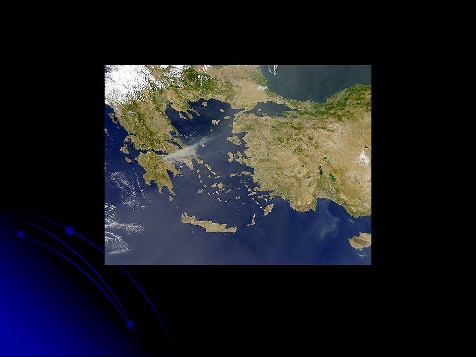 Civilização Grega Território: relevo acidentado com montanhas.