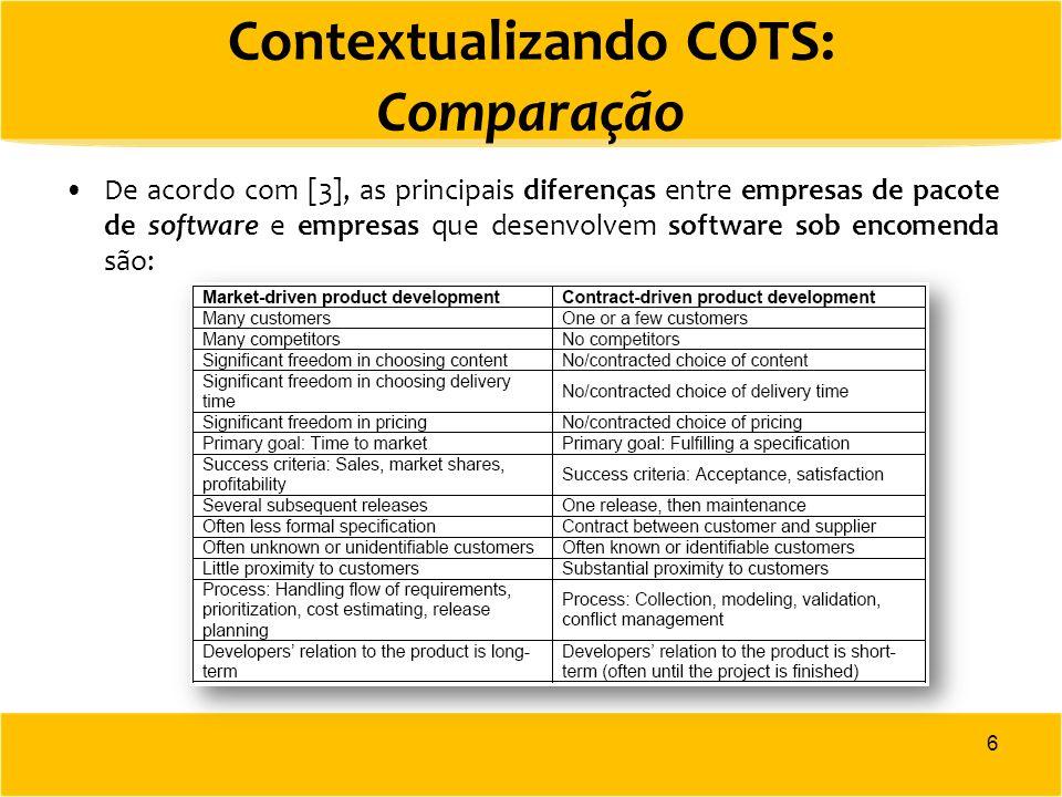 Marketing e Vendas em Empresas de Pacotes de Software: Modelo [8] Preparação de um plano para desenvolver o conteúdo adequado, no tempo correto e com o custo exato para cada release (versão do produto).