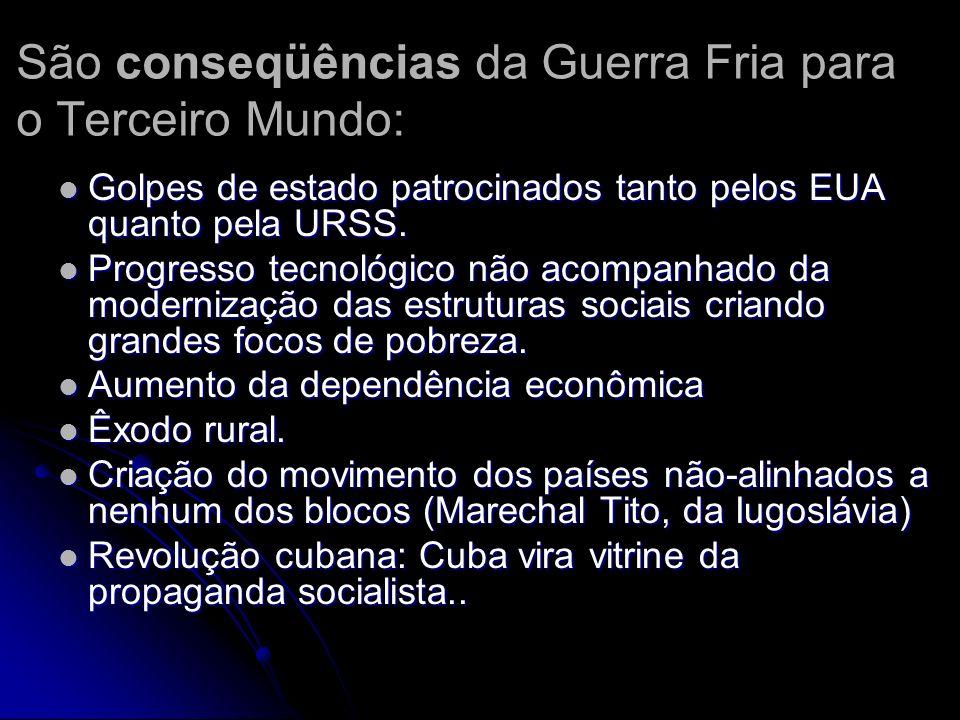 Terceiro Mundo se for Piada no exterior (Renato Russo) Socialismo: o sonho foi apagado pela corrupção e pela ditadura