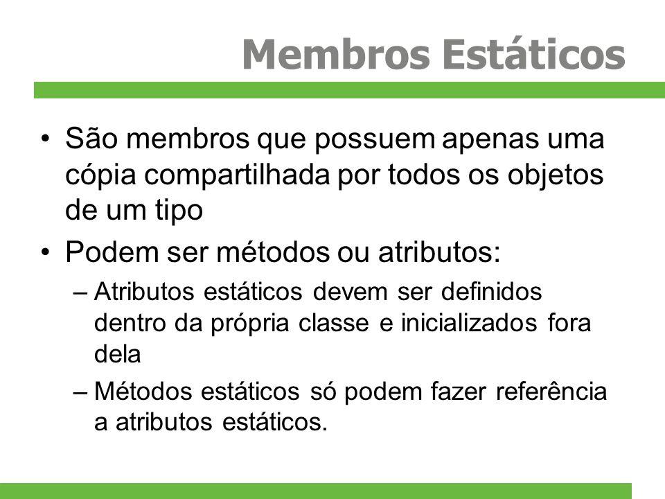 Exemplo exemploStatic.cpp