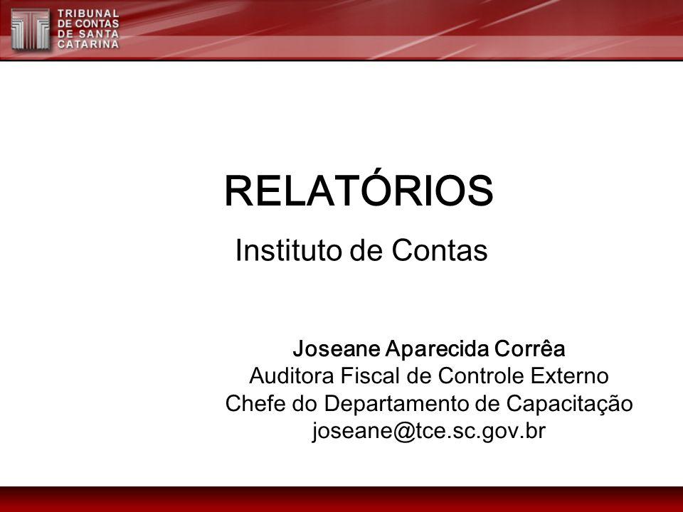 Referências - Exemplo Decisão do Tribunal de Contas: SANTA CATARINA.