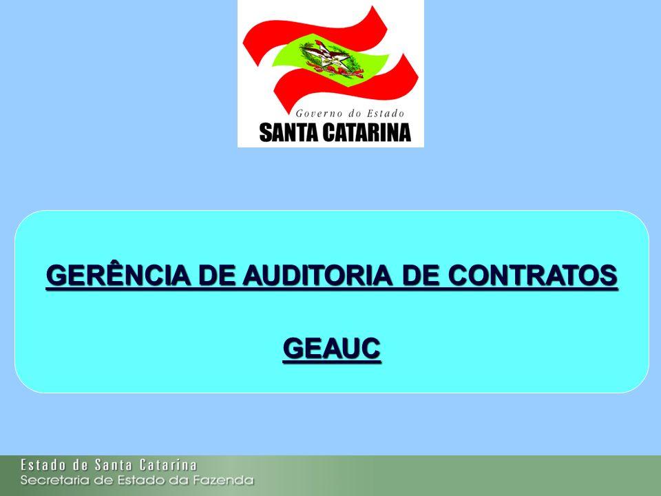 GERÊNCIA DE AUDITORIA DE CONTRATOS GEAUC