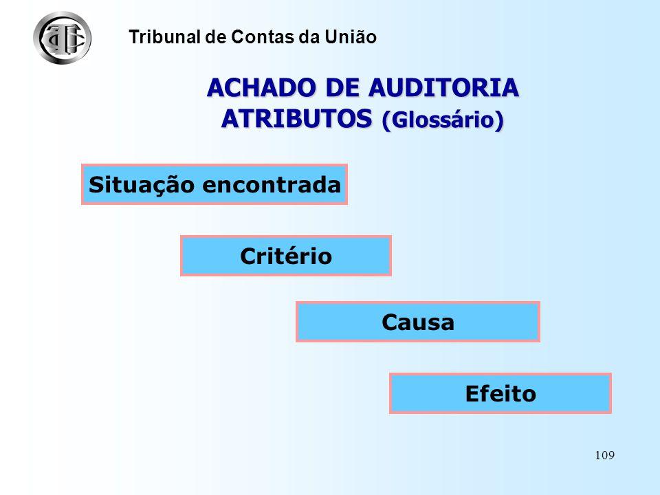 108 Definição Tribunal de Contas da União