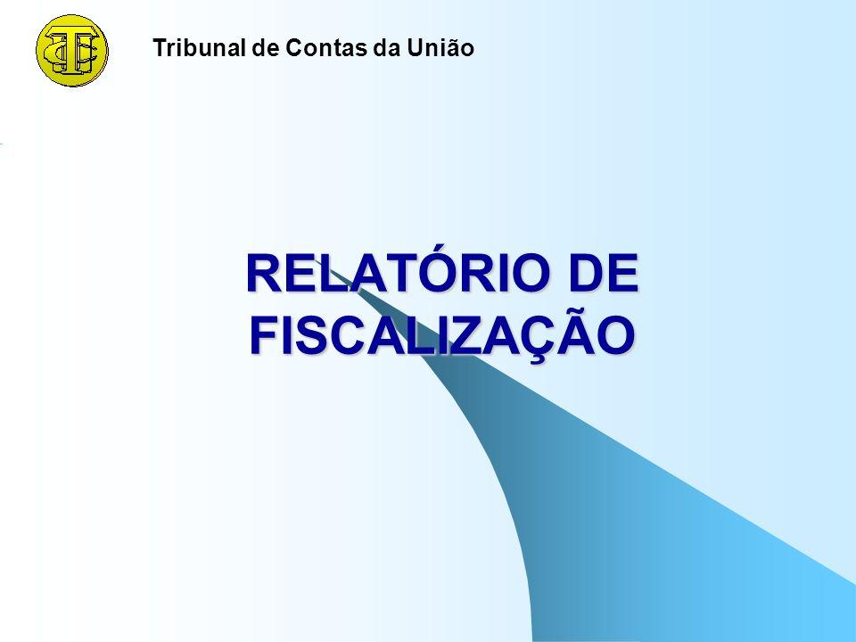 124 IMPORTANTE De acordo com o Roteiro de Auditoria de Conformidade, a estrutura dos achados é transportada integralmente para o relatório da equipe,