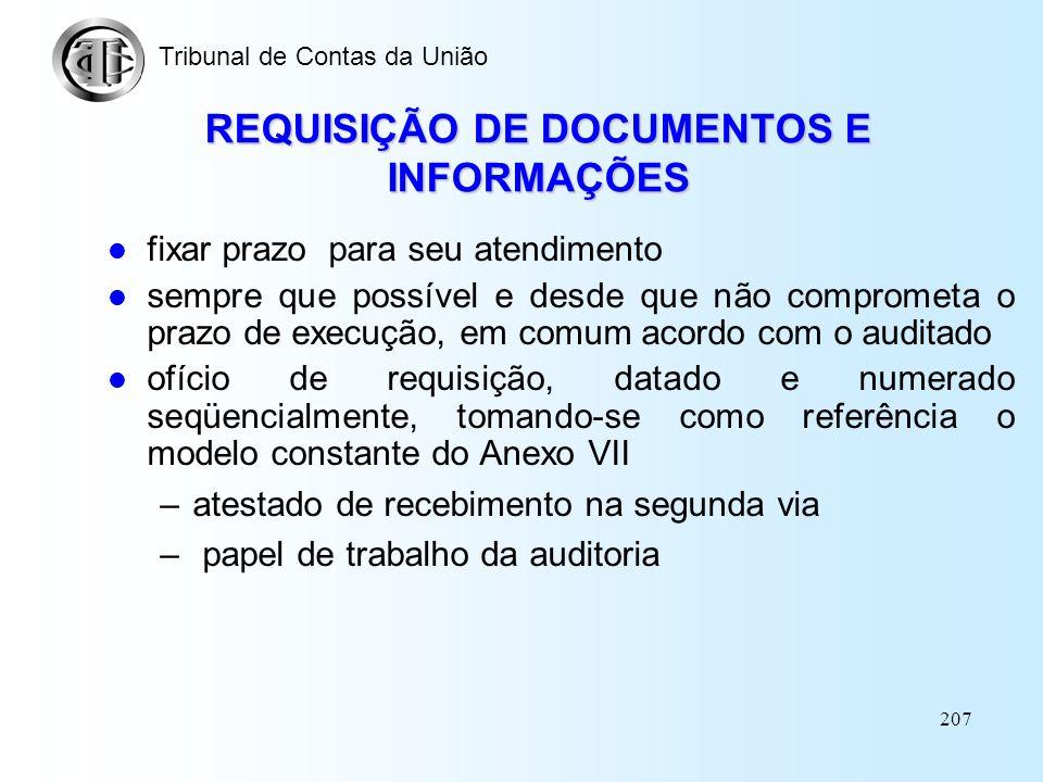 206 OFÍCIO DE APRESENTAÇÃO escopo e os objetivos do trabalho ambiente reservado e seguro para a instalação da equipe senha de acesso designação de uma