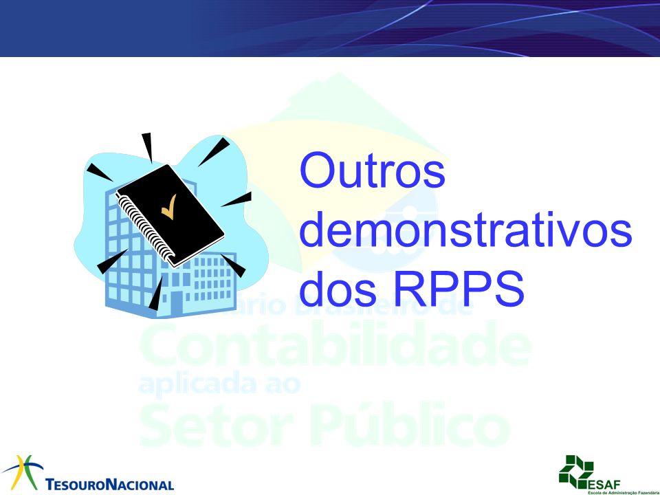Outros demonstrativos dos RPPS
