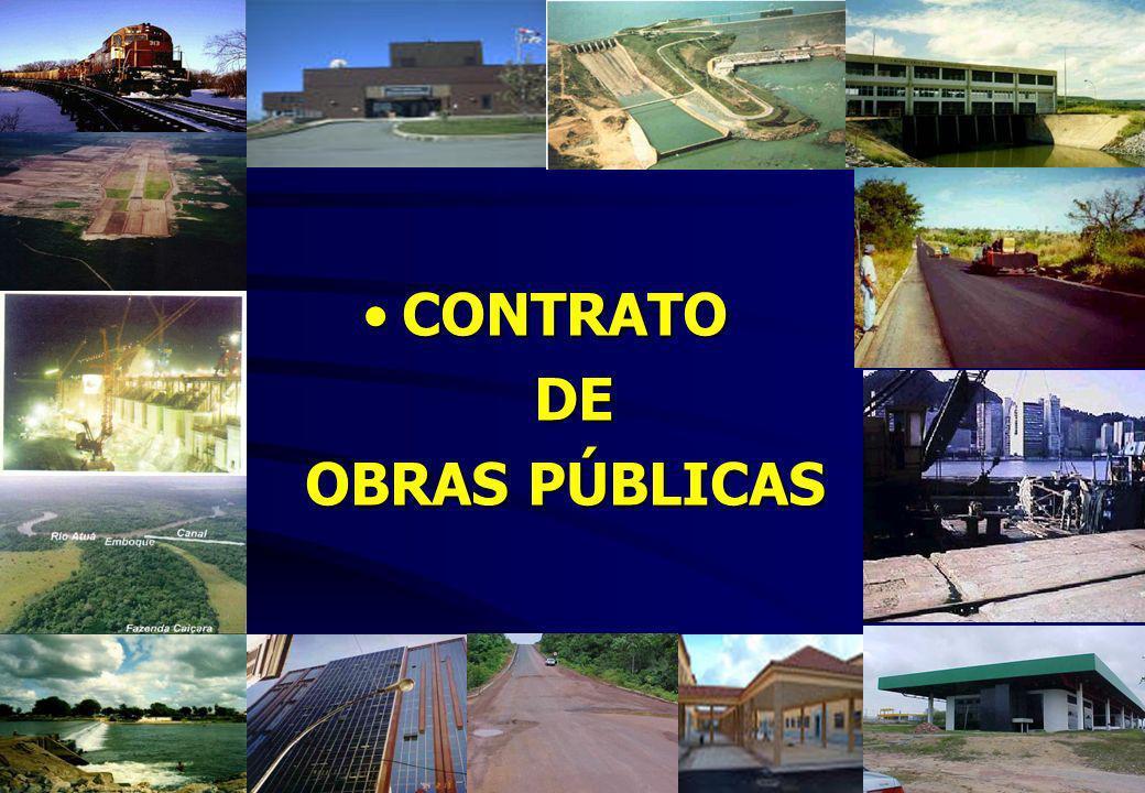 CONTRATOCONTRATO DE DE OBRAS PÚBLICAS OBRAS PÚBLICAS